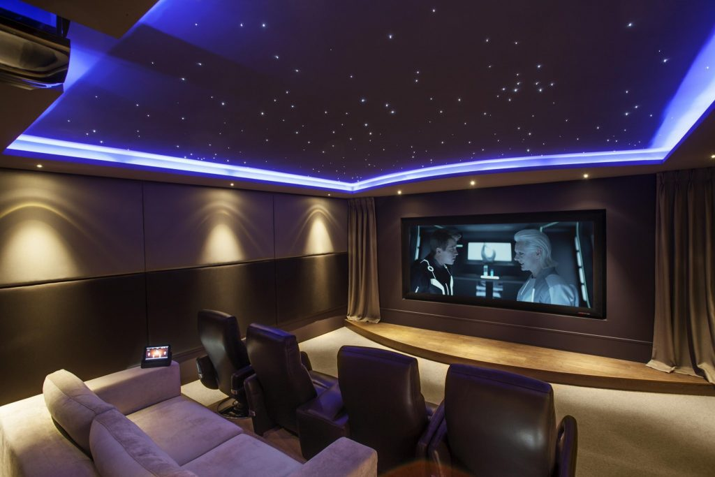 Home Theatre Systems and Acoustic treatment